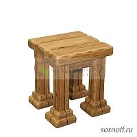стул из дуба